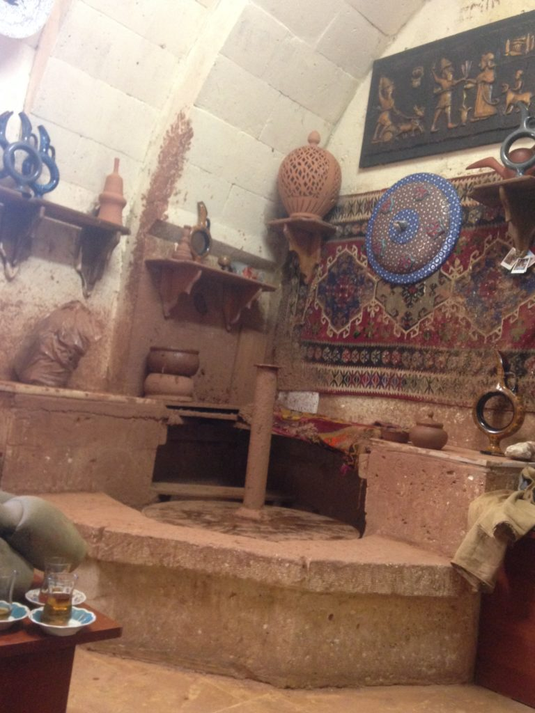 pottery shop in avanos goreme