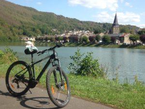 biciclit pe meuse